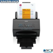 Brother Scanner Ads-2400N Escritorio Adf Red