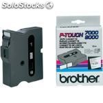 Brother tx-251, negro sobre blanco, tx, negro, brother, p-touch pt-7000,