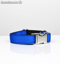 Brott collar solid electric blue l