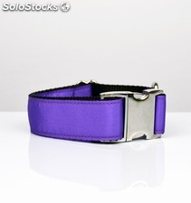 Brott collar solid purple l