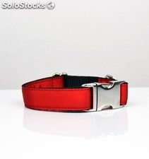 Brott collar solid red l