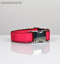 Brott collar solid strawberry l