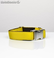 Brott collar solid yellow l