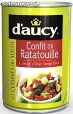 Bte 1/2 confit ratatouille of daucy