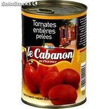 Bte 1/2 tomate entiere pelee of le cabanon