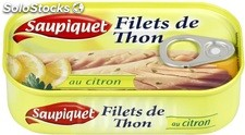 Bte 1/6 filet thon citron saupiquet