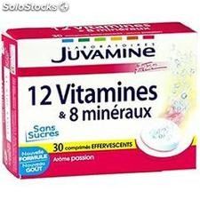 Bte 30 comprimes 10 vitamines + 4 oligo elements juvamine
