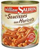 Bte 4/4 saucisses/haricot famille gourmande william saurin
