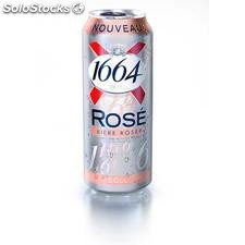 Bte biere 50CL 1664 rose