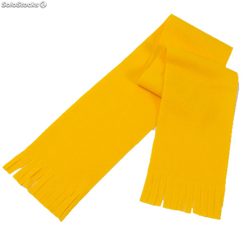 Bufanda amarillo polar fleece 18 g/ M2.