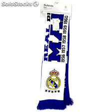 Bufanda Fan Real Madrid desde 1902 doble