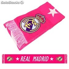 Bufanda Real Madrid Pink