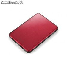 Buffalo - MiniStation Slim 2000GB Rojo disco duro externo