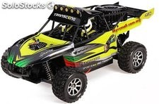 Buggy Desert eléctrico 4WD 50 kmh 1:18 Brushed 2,4GHZ rtr Wltoys rc