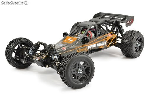 Buggy Surge eléctrico 4WD naranja 1:12 Brushed RTR FTX RC