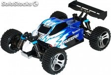 Buggy Vortex eléctrico 4WD 50 kmh 1:18 Brushed 2,4GHZ rtr Wltoys A959 rc