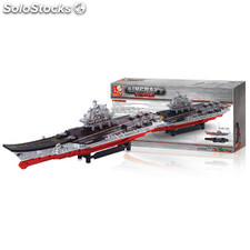 Building Blocks Aircraft Carrier Series Large Aircraft Carrier
