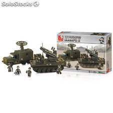 Building Blocks Army Series Launch Rocket System