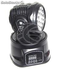 Bulb 18 led DMX512 Moving Head miniled (XB27)