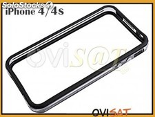 Bumper negro y transparente para Apple iPhone 4, Apple iPhone 4S.