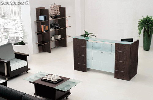 bureau comptoir. Black Bedroom Furniture Sets. Home Design Ideas
