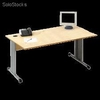 Bureau traditionnel 1600 mm hf erable - 60162
