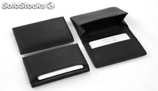 Businesscard Holder Black Cowhide Nappa