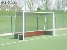 But de hockey sur gazon aluminium (Dim 3m66*2m14)