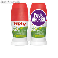 Byly organic extra fresh deo roll-on lote 2 pz