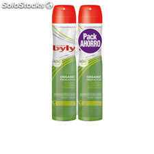 Byly organic extra fresh deo vaporizador lote 2 pz