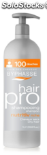 Byphasse champu nutritivo para cabellos secos, 1000 ml