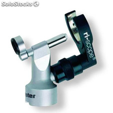 Cabezal del otoscopio F.O. quirúrgico veterinario Riester ri-scope XL 3,5 V, sin