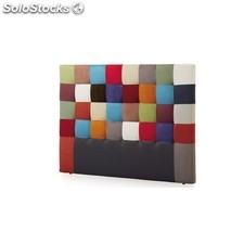 Cabezal Patchwork - Color - Multicolor Patchwork, Medidas - 90