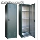 Cabinet for pesticides plastic coated galvanized-with hinged doors-adjustable