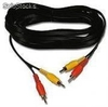 Cable 10m Prearmado de Audio y Video