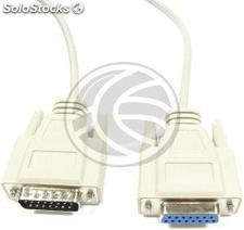 Cable 15pin (DB15-m/h) 1.8m (CJ02)