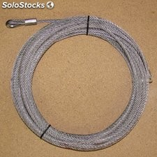 Cable 24 metres 6.5 mm 3000 kg