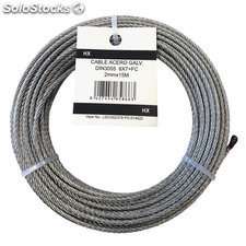 Cable acero din 3055 6X7 de 02 mm 25 m