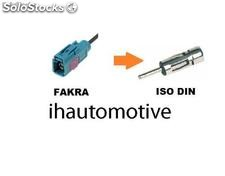 Cable adaptador antena de radio amplificado Fakra simple a din (iso universal)