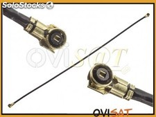 Cable antena coaxial de 90 mm para Alcatel One Touch Pop 2 5.0 / OT 7043K.