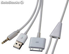 Cable Auxiliar usb Audio ipad/iphone/ipod