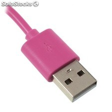 Cable cargador USB con conector iPhone 4 / 4s / iPad 2 / iPod touch 4 / iPod
