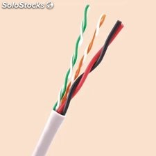 Cable con energía cable UTP /FTP Cat5/Cat6 Cable de red LAN cable communicación