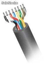 Cable control pareado flexible