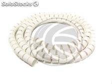 Cable Cover Bianco 15mm. Coil 10m (EA03)