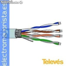 Cable datos u/utp cat-5E lsfh 305m gr.(305 mtrs)