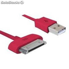 Cable de carga y sincronizacion phoenix para dispositivos apple iphone ipad 1.5m