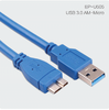 Cable de datos USB 3.0 AM a cable micro