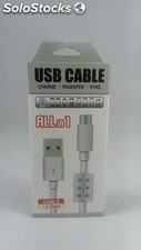 Cable de datos y carga All in 1