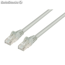 Cable De Red Ftp Cat 5e De 10.00m Gris